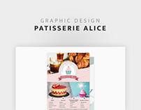 Pâtisserie Alice - Flyer
