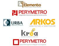 Bocetos para logotipo de Arquitectura
