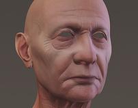 Head Render Zbrush