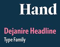 Dejanire Headline type family