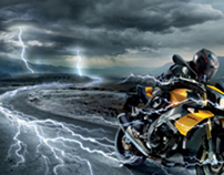 Aprilia Tuono Ride The Lightning