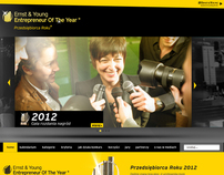 Ernst & Young Entrepreneur Of The Year website