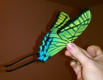Butterfly Mobile Prototypes
