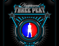 Three peat: Playground