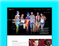French Body Painting Festival - Landing page