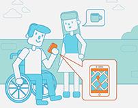 Ilustrações campanha Cisco - Tecmundo