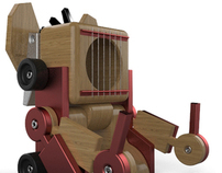 Cube Transformer Toy Design