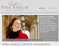 Piper Anselmi Artists Management
