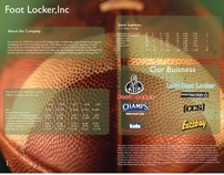 Print spread( Foot Locker all Logos was revised)