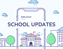 School Updates - iOS & Android App