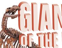 """Exhibit """"Giants of the past"""" Queensland Museum"""