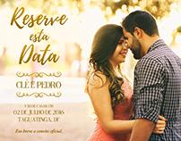Save The Date - Clê e Pedro