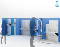 Line | Cardboard Stand System
