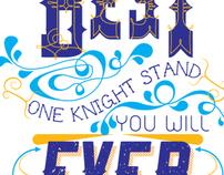 Knight-Thon T-shirt