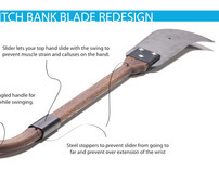 Ditch Bank Blade Redesign