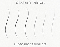 FREE GRAPHITE PENCIL PHOTOSHOP BRUSHES