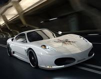 Ferrari Calavera Rendering