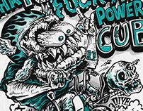 Tha KUSTOM Fuckin CUB - Illustration t-shirts