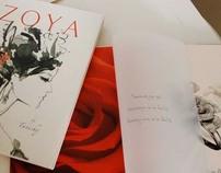 Zoya book design