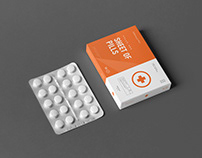 Pills Box Mock-up 2