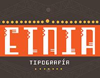 Etnia typography