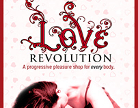 Print Ads for Love Revolution