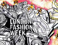 London Fashion Week ident 2009