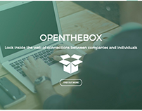 OpenTheBox re-design and front-end work