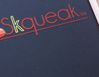 "i-Phone APP ""Skqueak"" Interactive Design"