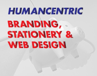 HumanCentric - Branding, Stationery, & Web Design