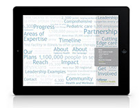 Cadence Health Capital Campaign iPad App