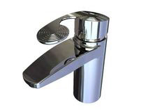 Faucet inspiret by water rings