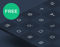 Freeline - 40 free outline icon