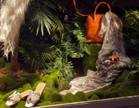 Rainforest - Hermès Window Display
