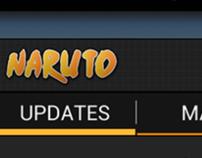 Naruto for Andorid UI Concept v2
