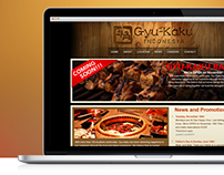Gyu-Kaku Indonesia Web Design