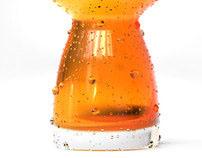 Beer glass design