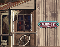 Graphic Design for Barraco 27 Bar