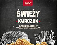 KFC web design