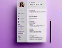 Freebie Clean & Professional Resume With Cover Letter