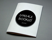 Typeface Booklet