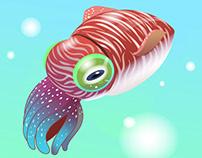 Ai on the iPad: Cuttlefish
