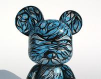"One Bad Mouse Custom 5"" Qee"