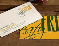 Logo Design Leafy Fresh