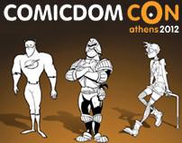 Comicdom Con Athens 2012 tvc