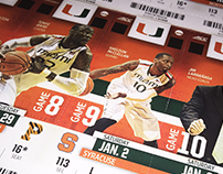 2015-16 Miami Basketball Ticket Layout