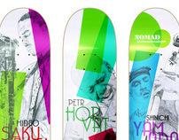 Nomad Skateboards Jazz Pro's