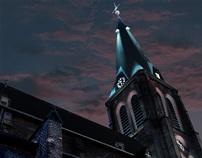 Lighting concept for Herten downtown
