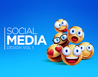 Social Media Banner Design Vol 1