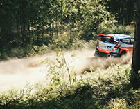 Gear Patrol :: Hyundai returns to rallying Photo Essay